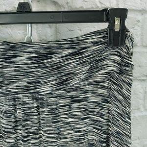 Merona Electric Print Knit Maxi-skirt w/ Slits